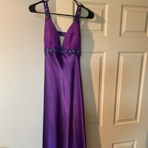 Prom dress Dress Purple Dress Sequin